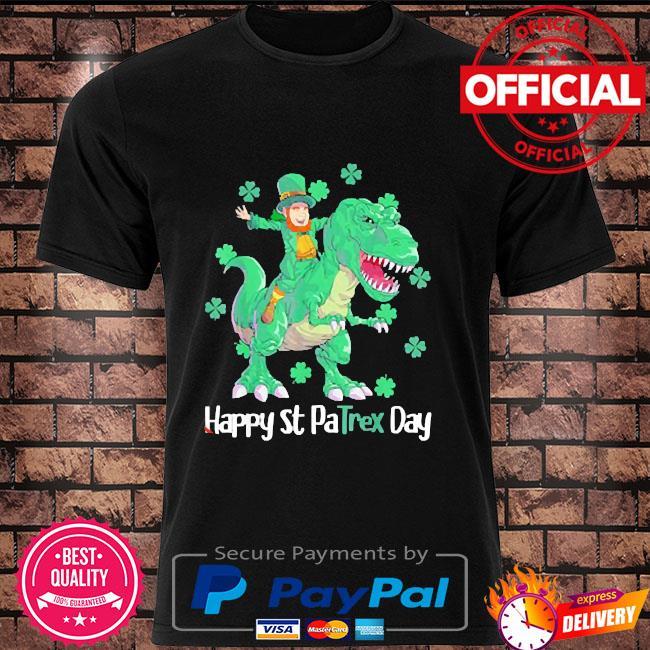 2021 happy st patrex day leprechaun shirt