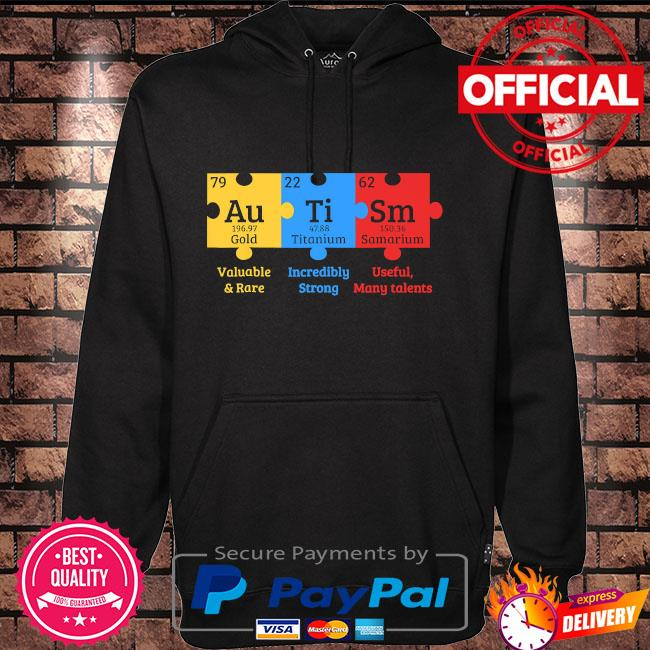 Autism valuable and rare incredibly strong useful many talents s Hoodie black