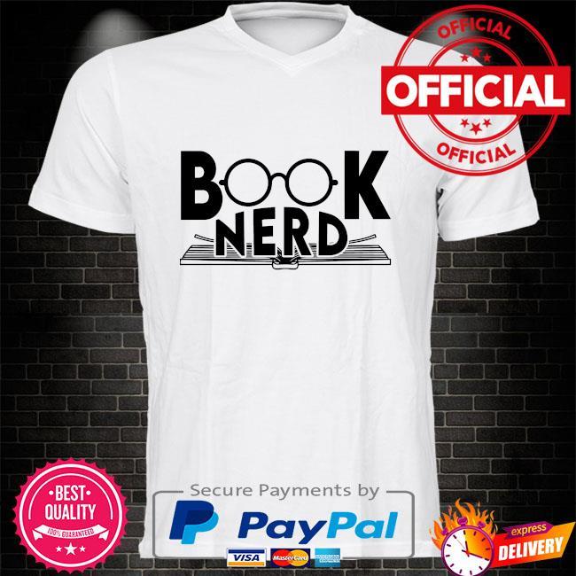 Book nerd shirt