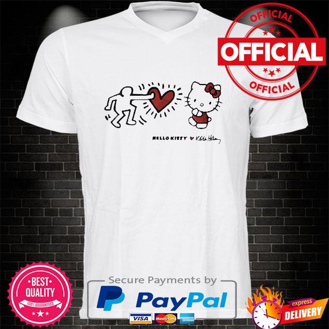 Hello kitty x keith haring shirt