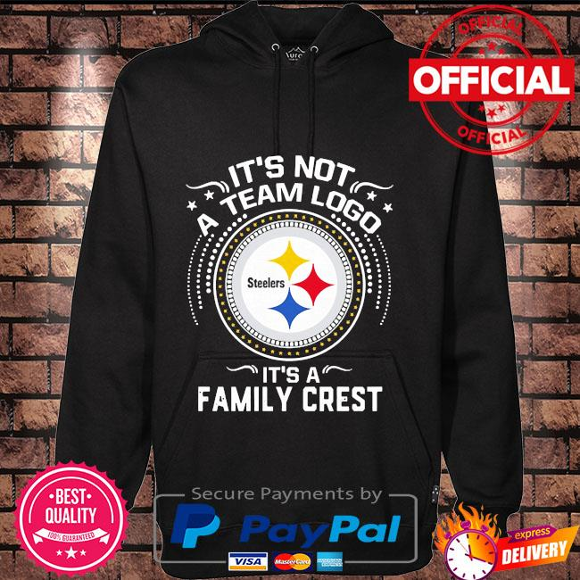 Pittsburgh Steelers it's not a team logo it's a family crest s Hoodie black