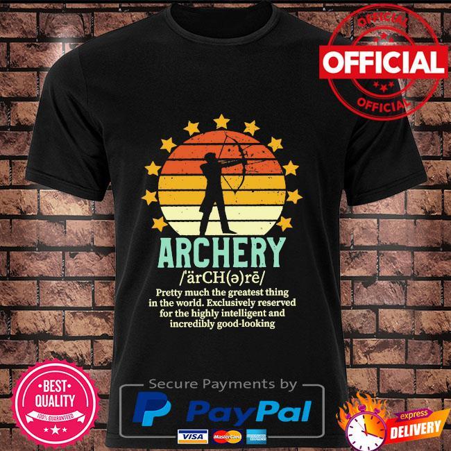 Archery vintage shirt