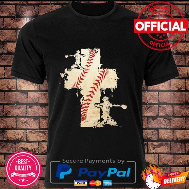 Baseball cross shirt