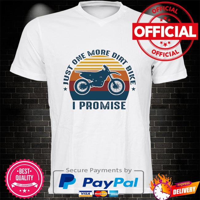 Just one more dirt bike I promise vintage shirt