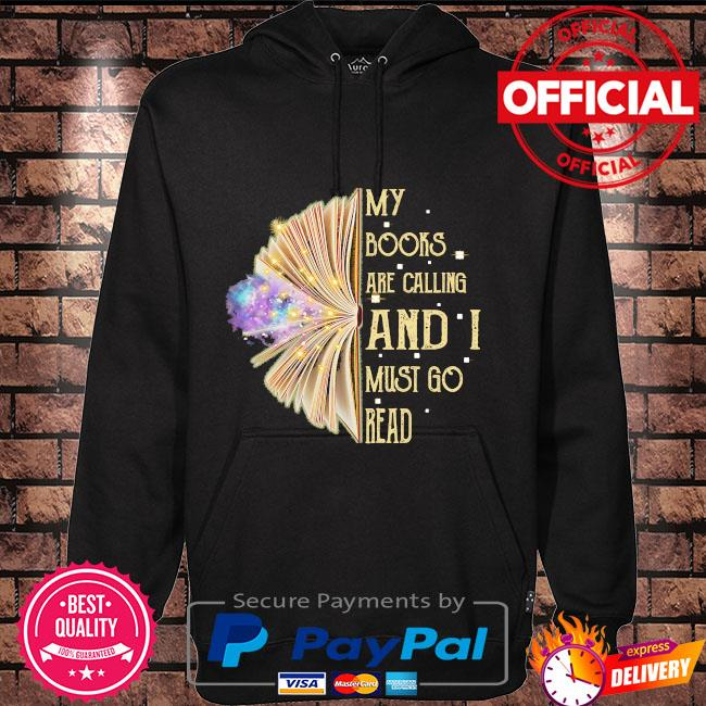 My books are calling and I must read Hoodie black