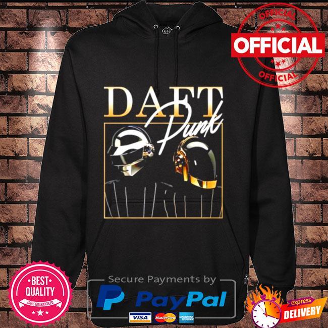 Official Daft punk signature Hoodie black