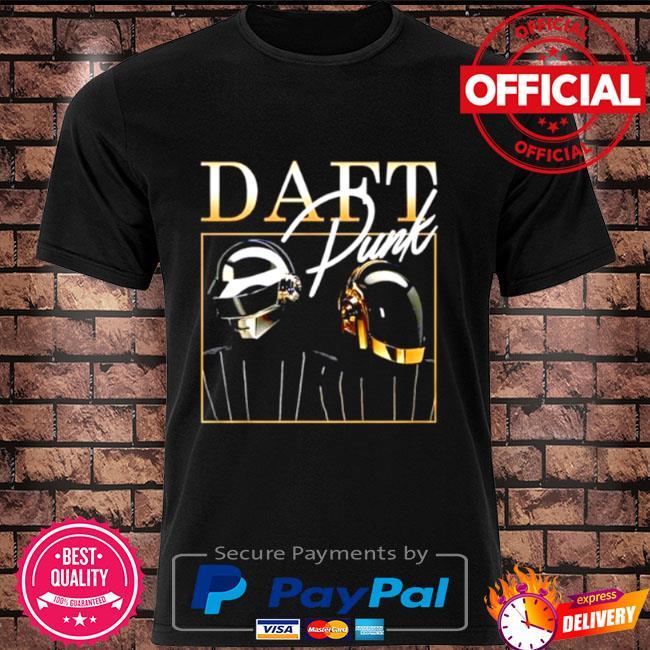 Official Daft punk signature shirt