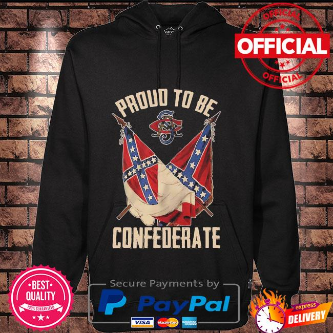 Proud to be Confederate Hoodie black