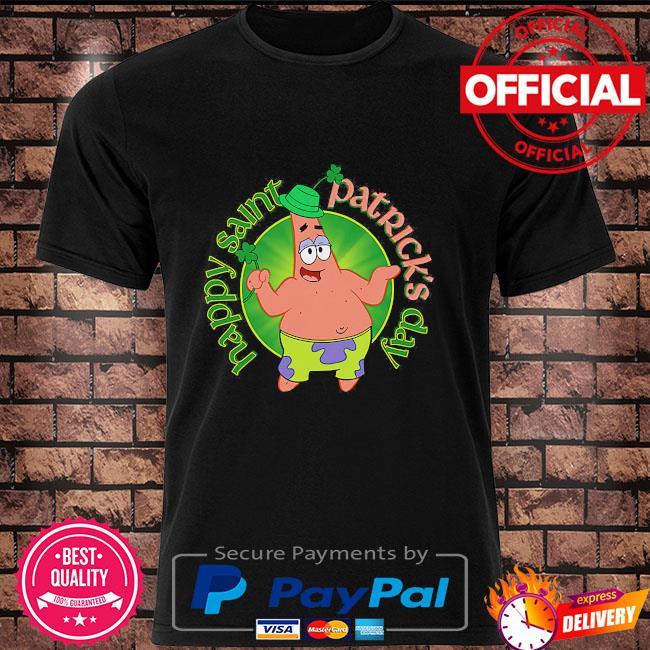 Spongebob squarepants happy st patrick's day shirt