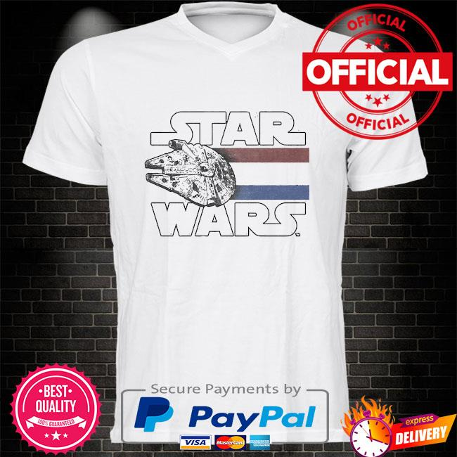 Star wars falcon blast off shirt
