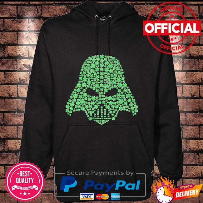 Star wars shamrock darth Vader Hoodie black