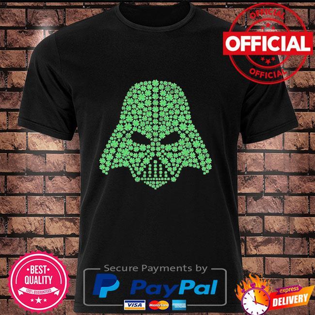 Star wars shamrock darth Vader shirt