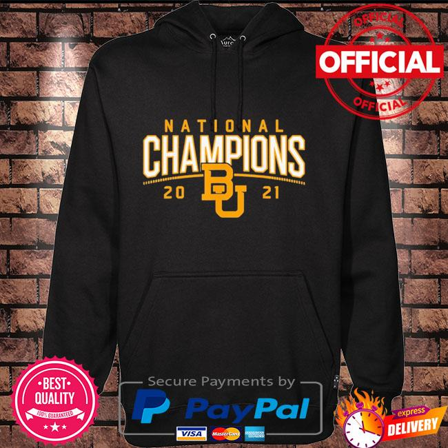 Baylor Bears national champions 2021 Hoodie black