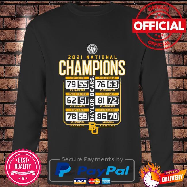 Baylor national championship 2021 Long sleeve black