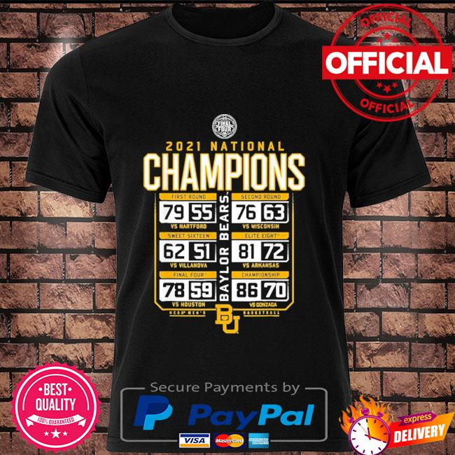 Baylor national championship 2021 shirt