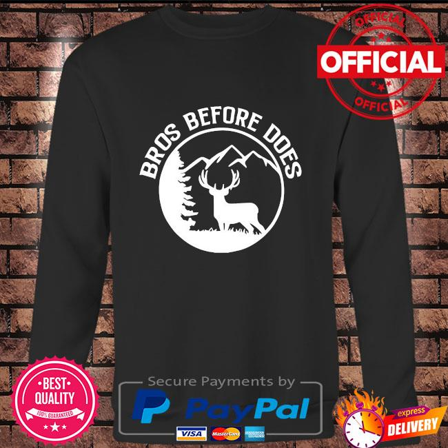 Bros before does bachelor party Long sleeve black