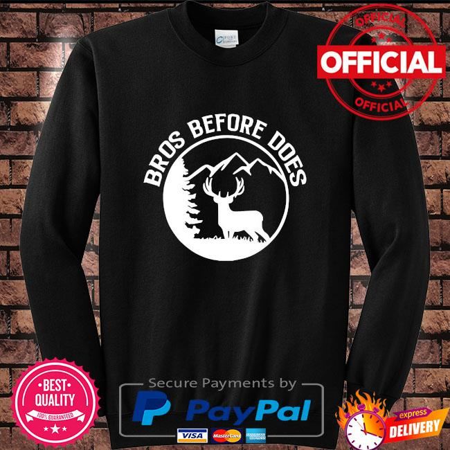 Bros before does bachelor party Sweater black