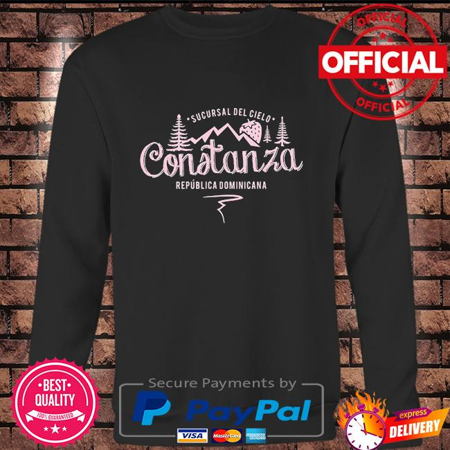 Constanza la vega dominican republic souvenir Long sleeve black