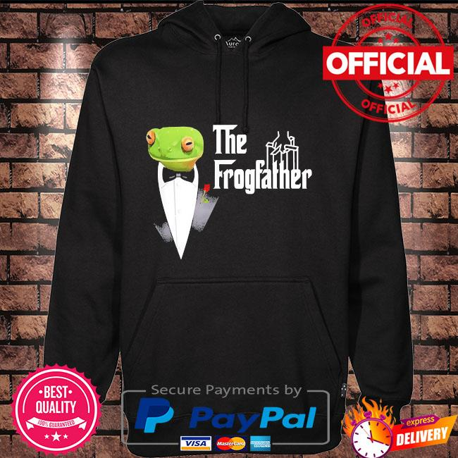 Frog father or frogfather for frogs fan frog lovers Hoodie black
