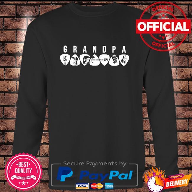 Guitar grandpa 2021 Long sleeve black