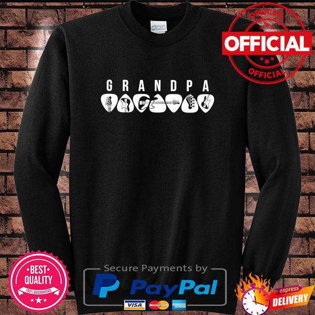 Guitar grandpa 2021 Sweater black