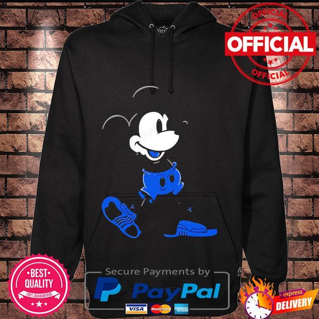 Mickey mouse Jordan 12 game royal matching Hoodie black