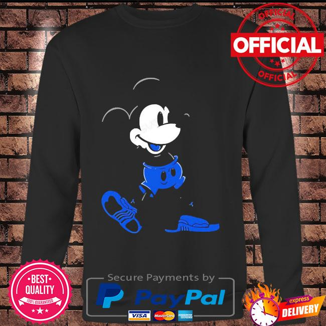 Mickey mouse Jordan 12 game royal matching Long sleeve black