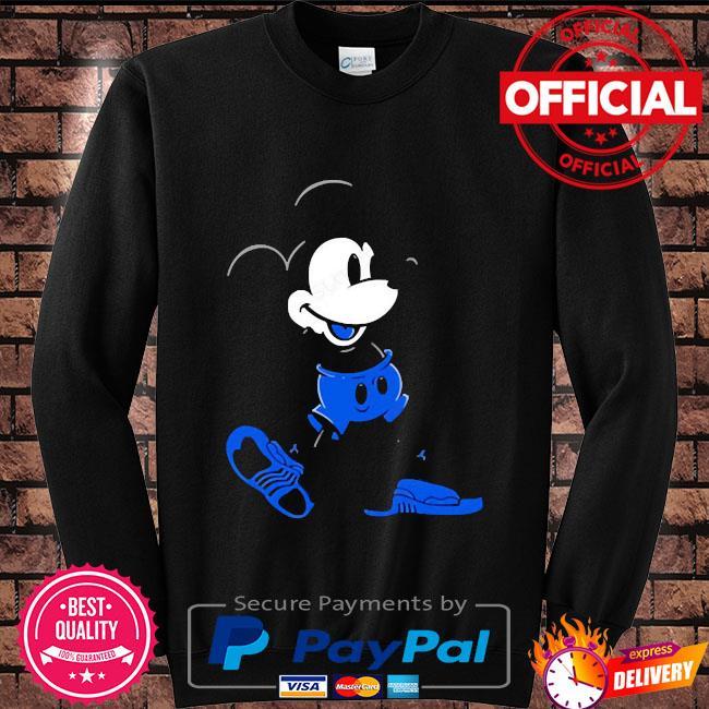 Mickey mouse Jordan 12 game royal matching Sweater black