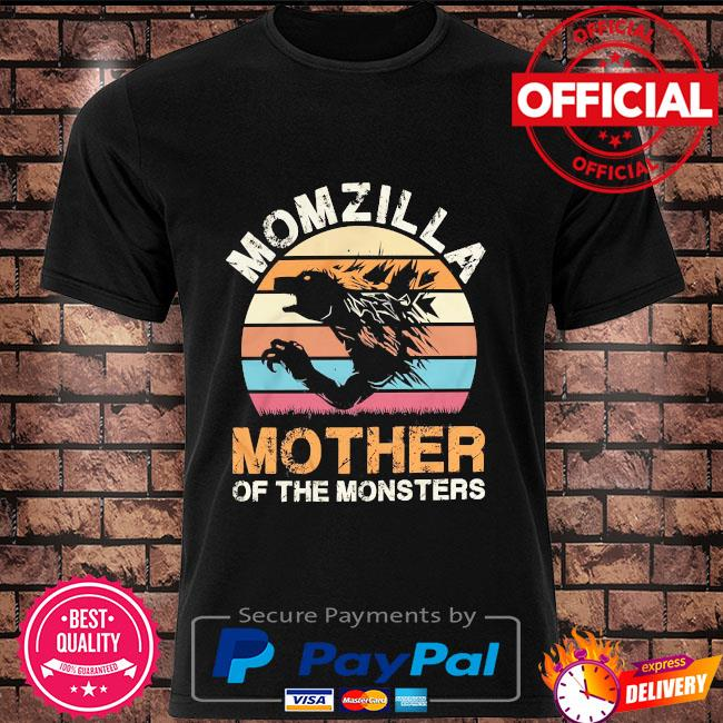 Momzilla mother of the monsters vintage shirt