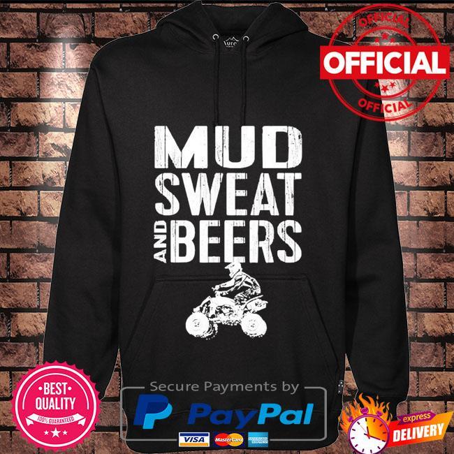 Mud sweat and beers Hoodie black