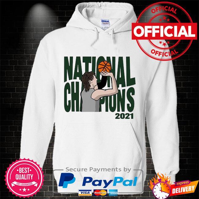 National Champions 2021 Hoodie white