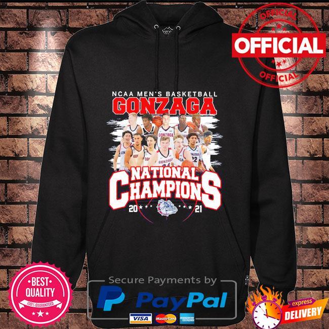 Ncaa men's basketball gonzaga national champions 2021 Hoodie black