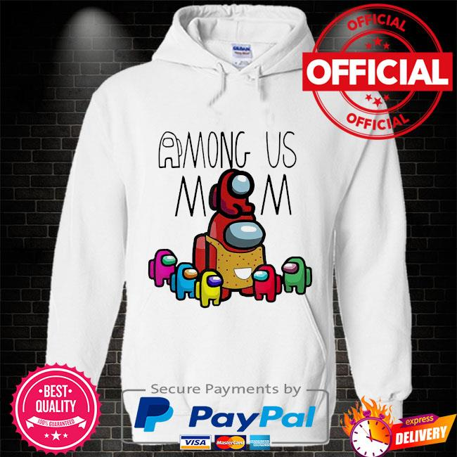 Official among us mom mother day Hoodie white