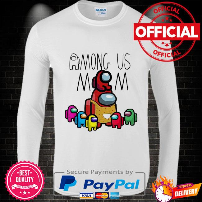 Official among us mom mother day Long sleeve white
