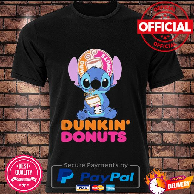 Official Baby stitch hug Dunkin' Donuts 2021 shirt