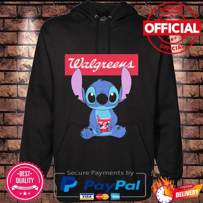 Official Baby stitch hug Walgreens 2021 Hoodie black
