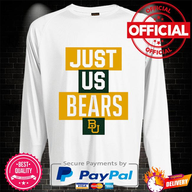 Official baylor bears just us bears bu Sweater white