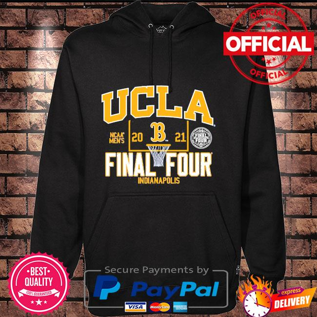Official ucla bruins blue 84 youth 2021 ncaa men's basketball tournament march madness final four bound Hoodie black