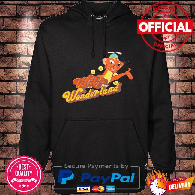 Official Willy's wonderland baby Hoodie black