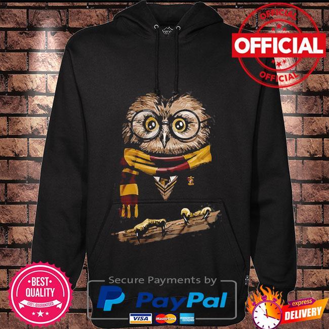 Owl harry potter Hoodie black