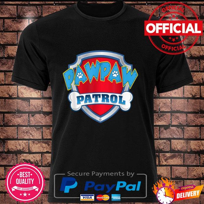 Pawpaw patrol dog mom shirt