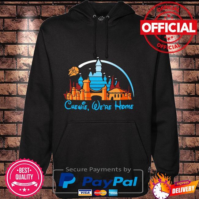 Personalized custom name we're home minnie cute castle walt disney disneyland lover Hoodie black