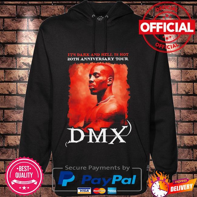 Rip Dmx it's dark and hell is hot 2021 Hoodie black