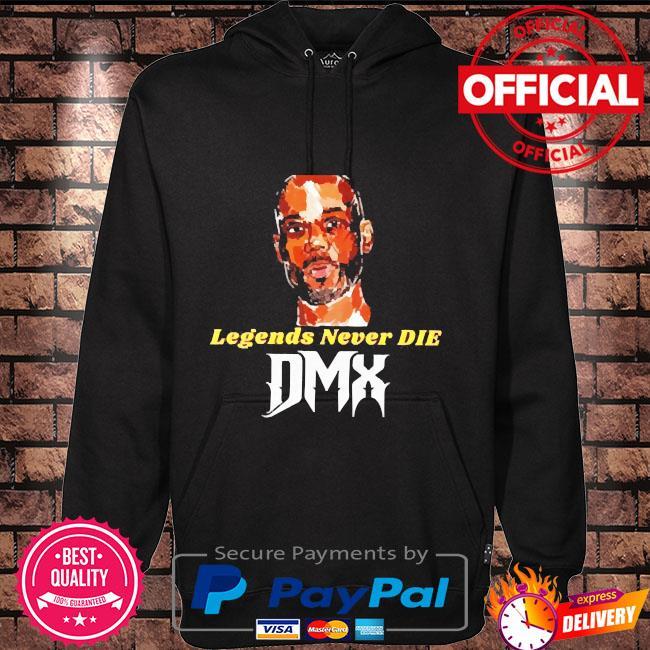 Rip DMX legends never die DMX Hoodie black