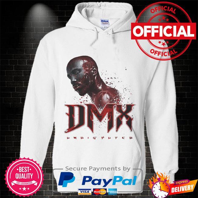 Rip Dmx undisputed Hoodie white