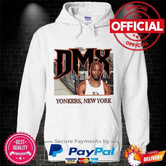 Rip Dmx yonkers new york Hoodie white