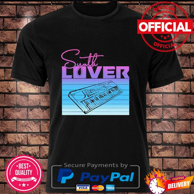 Synth Lover shirt