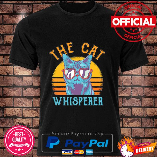 The Cat whisperer vintage shirt