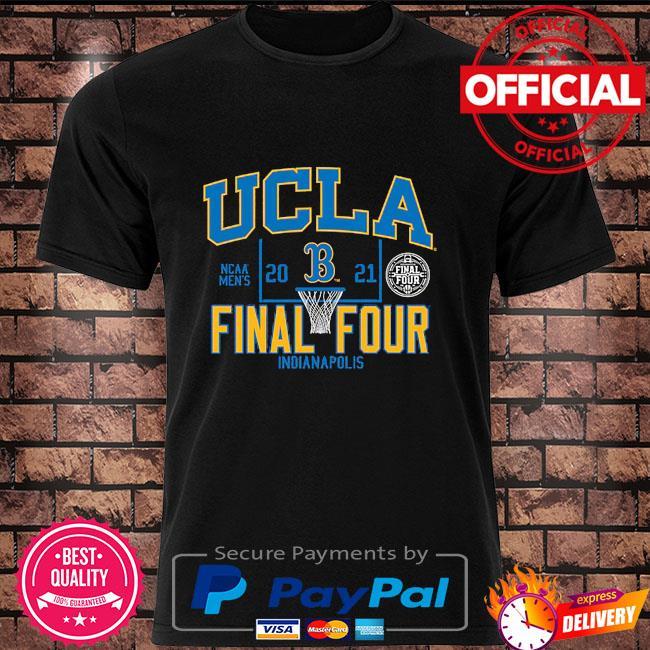 Ucla bruins 2021 ncaa men's basketball tournament march madness final four bound shirt