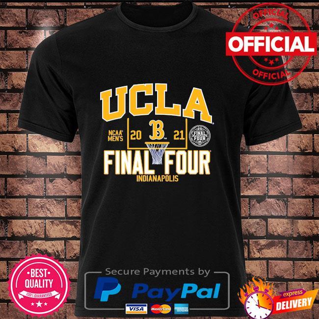Ucla bruins blue 2021 ncaa men's basketball final four indianapolis shirt